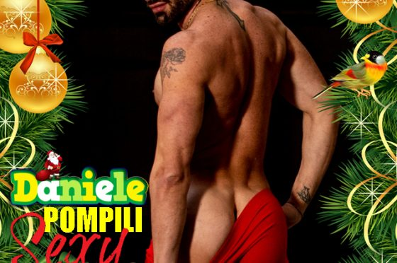 On Skandal Mag of December 2020 the Italian Top Model Daniele Pompili